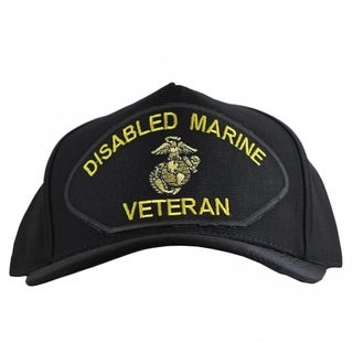 Disabled Marine Corps Veteran Hat Made In USA
