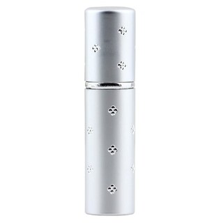 Portable Amazing Refillable Perfume Atomizer Travel Spray Bottle Silver