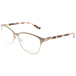 Tom Ford Cat-Eye FT 5420 074 Women Pink Frame Eyeglasses
