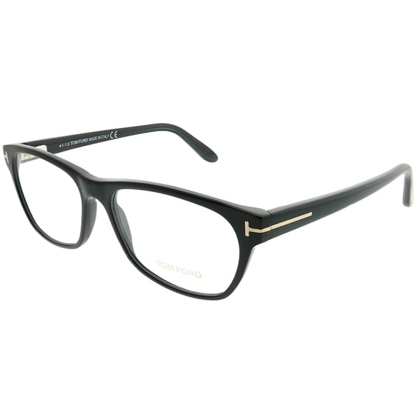 224edc743d32 Tom Ford Rectangle FT 5405 001 Women Shiny Black Frame Eyeglasses