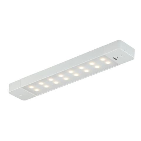 Instalux 16-in Linkable LED White Motion Under Cabinet Strip Light - 16-in W x 1-in H x 2.75-in D
