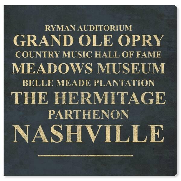 Shop Oliver Gal \'Nashville Landmarks\' Typography and Quotes ...