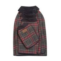 Pendleton Pet Grey Stewart Plaid Dog Coat