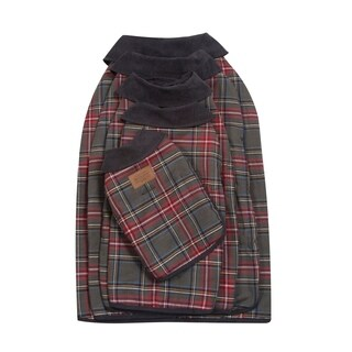 Pendleton Pet Grey Stewart Plaid Dog Coat