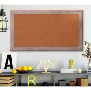 Farmhouse Framed Cork Board - 29.5 x 53.5