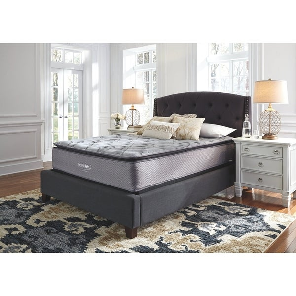 Signature Design by Ashley Curacao 13-inch Hybrid Mattress. Opens flyout.