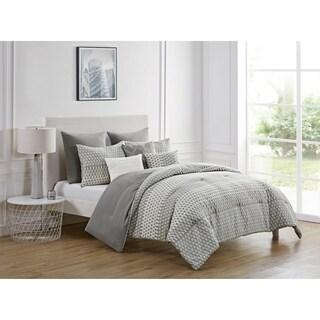 VCNY Home Macaire Jacquard Geometric Comforter Set