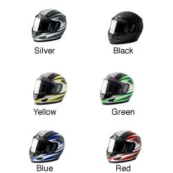 Lightweight Raider Dual-lens Shield DOT-approved Snowmobile Helmet