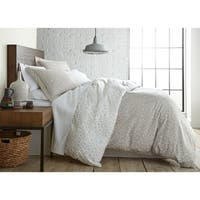 Vilano Choice 3-piece Geometric Maze Printed Reversible  Duvet Cover Set