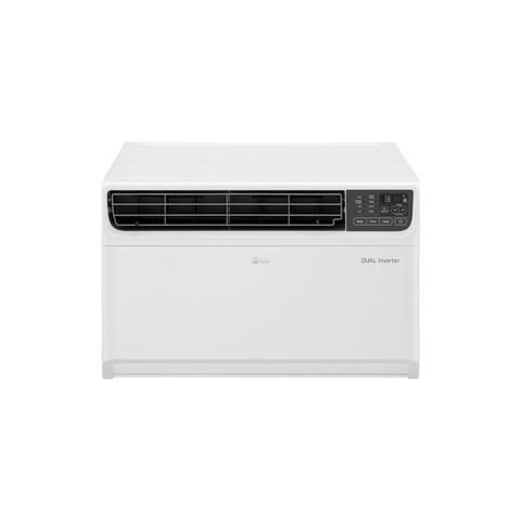 LG LW1517IVSM - 14,000 BTU DUAL Inverter Wi-Fi Enabled Window A/C (Refurbished) - White