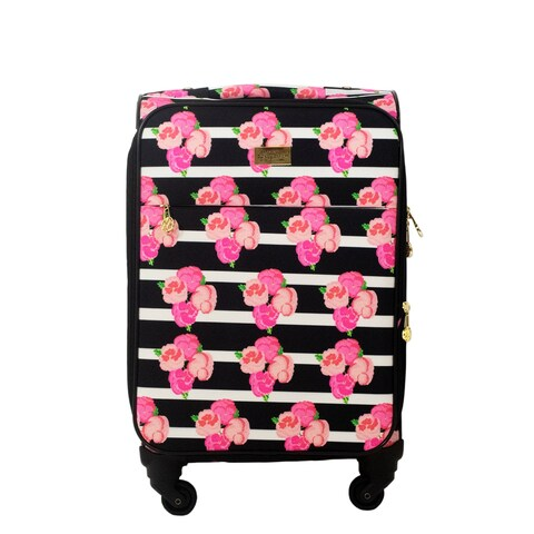 Macbeth Collection Petunia Magenta 21-inch Carry On Spinner Suitcase - 21in