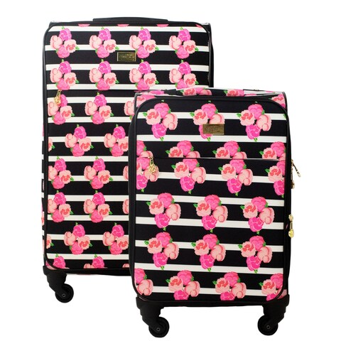 Macbeth Collection Petunia 2-piece Spinner Luggage Set