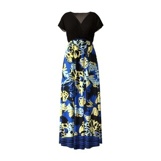 Surplice Maxi Dress