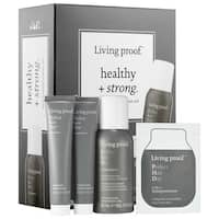 Living Proof Healthy + Strong 4-piece Mini Transformation Kit