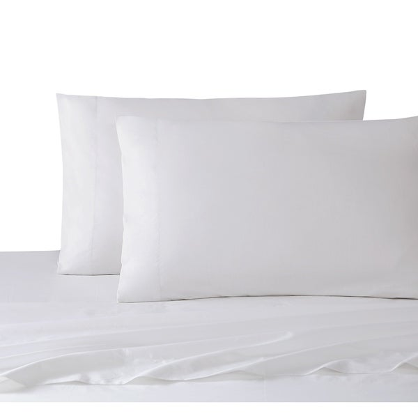 Veratex Cotton 200 Thread Count Sateen Solid Sheet Set