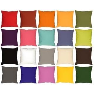 Pillow Decor - Caravan Cotton 23x23 Throw Pillow