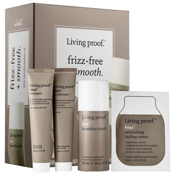 Living Proof Frizz-Free + Smooth 4-piece Mini Transformation Kit