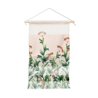 Marta Barragan Camarasa Pink Portait Wall Hanging