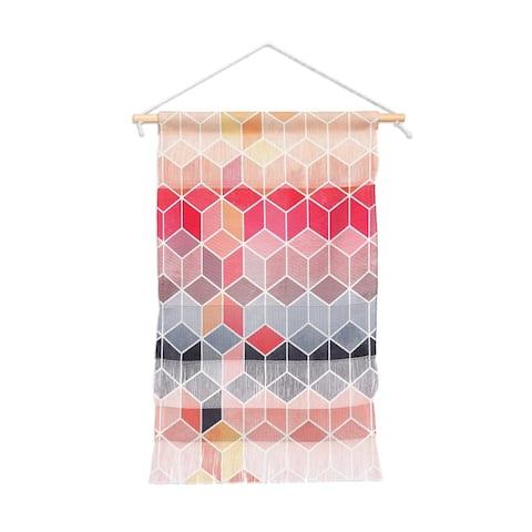 Elisabeth Fredriksson Happy Portait Wall Hanging