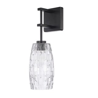 Capital Contemporary 1-light Matte Black Wall Sconce
