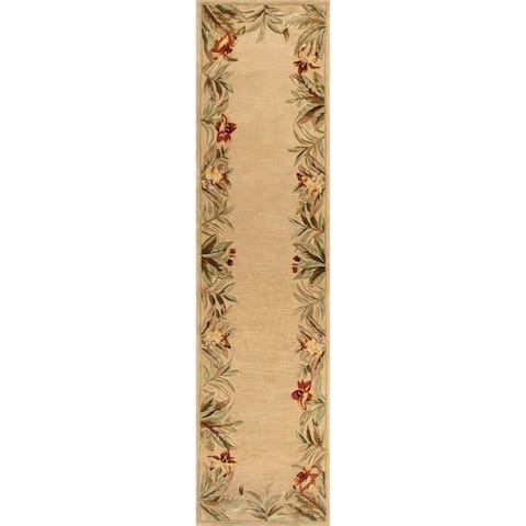 KAS Sparta Ivory Rainforest Rug