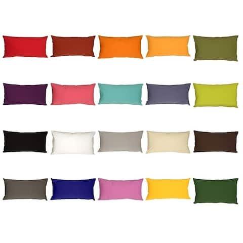 Pillow Décor - Caravan Cotton 12x19 Throw Pillow
