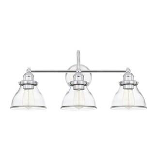 Capital Baxter 3-light Chrome Bath/Vanity Fixture
