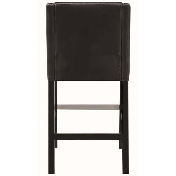 Miraculous Shop Contemporary Sloped Arm Design Black Bar Stools With Pdpeps Interior Chair Design Pdpepsorg