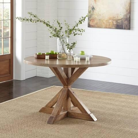 Simple Living Charlotte Pedestal Dining Table