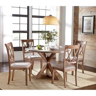 Simple Living Rose Pedestal Dining Set