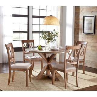 Simple Living Rose Pedestal Dining Set