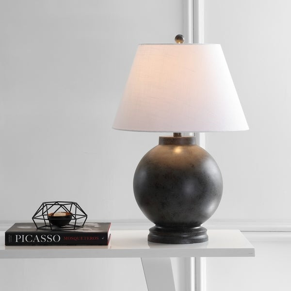 Shop Sophie 26 Resin Led Table Lamp Dark Gray By Jonathan Y On