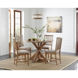 Link to Simple Living Charlotte Pedestal Dining Set Similar Items in Dining Room & Bar Furniture