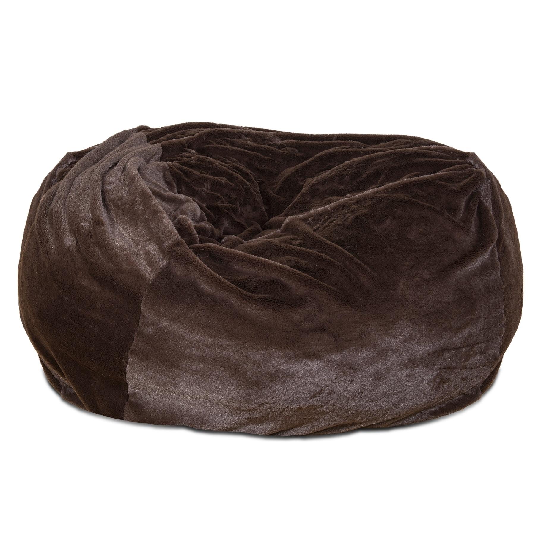 Fantastic Furhaven Pet Bed Round Plush Ball Dog Bed Evergreenethics Interior Chair Design Evergreenethicsorg