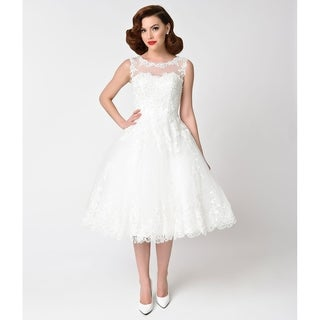 Unique Vintage Riviera Bridal Dress