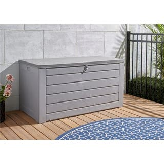 Avenue Greene COSCO Outdoor 180 Gallon Deck Patio Garden Storage Box