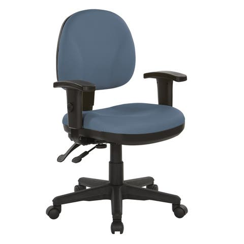 Sculptured Ergonomic Fabricated Office Chair