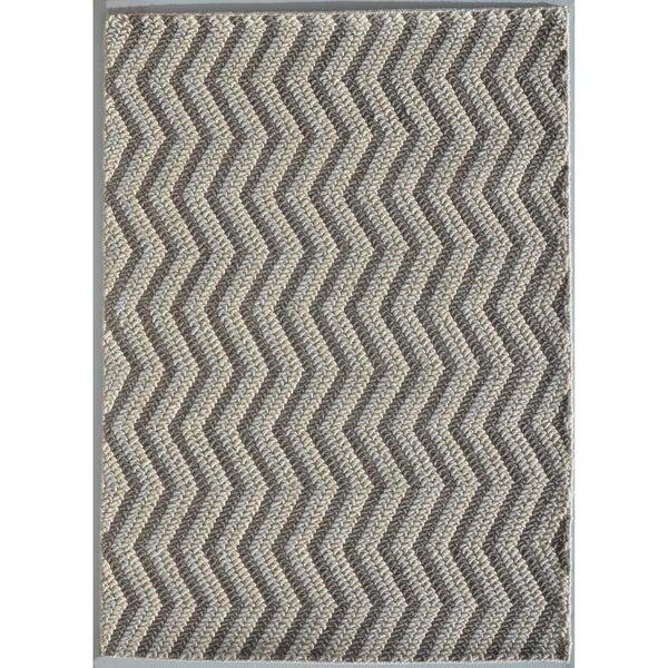 "Rug Tycoon Abstract Modern Contemporary Grey Rug - 10'0""x13'0""rectangular"