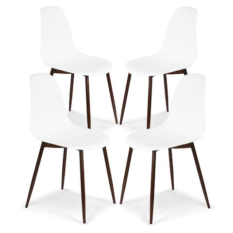 Edgemod Landon Sculpted Dining Chair (Set of 4)