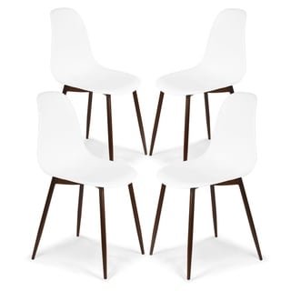 Link to Edgemod Landon Sculpted Dining Chair (Set of 4) Similar Items in Dining Room & Bar Furniture