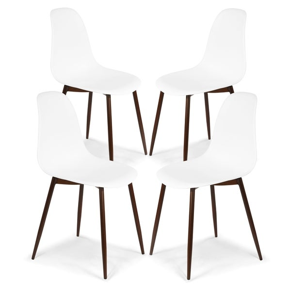 Edgemod Landon Sculpted Dining Chair (Set of 4). Opens flyout.