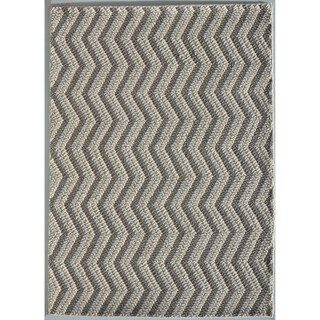 "Rug Tycoon Abstract Modern Contemporary Grey Rug - 7'11""x9'10""rectangular"