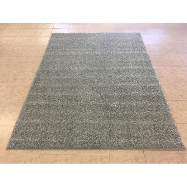 "Rug Tycoon Abstract Modern Contemporary Grey Rug - 4'0""x6'0""rectangular"