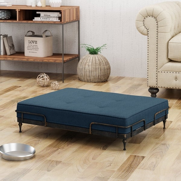 Shop Heathbrooke Industrial Pet Bed By Christopher Knight