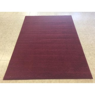 """Rug Tycoon Abstract Modern Contemporary Red Rug - 4'0""""x6'0""""rectangular"""