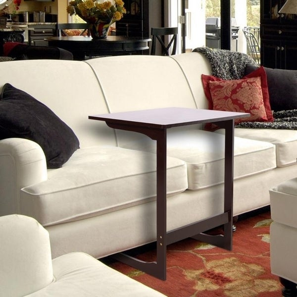 Bamboo Wood C Shaped Sofa Side End Table Snake On Rh Com Set Design Uk