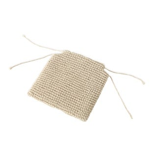 Link to Franconia Knitted Cotton Cushion by Christopher Knight Home Similar Items in Table Linens & Decor