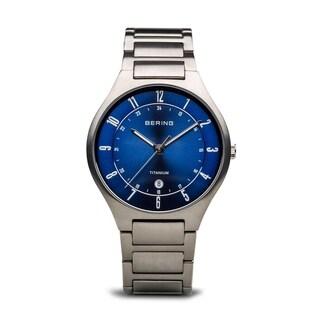 BERING Titanium Slim Watch With Sapphire Crystal 11739-707