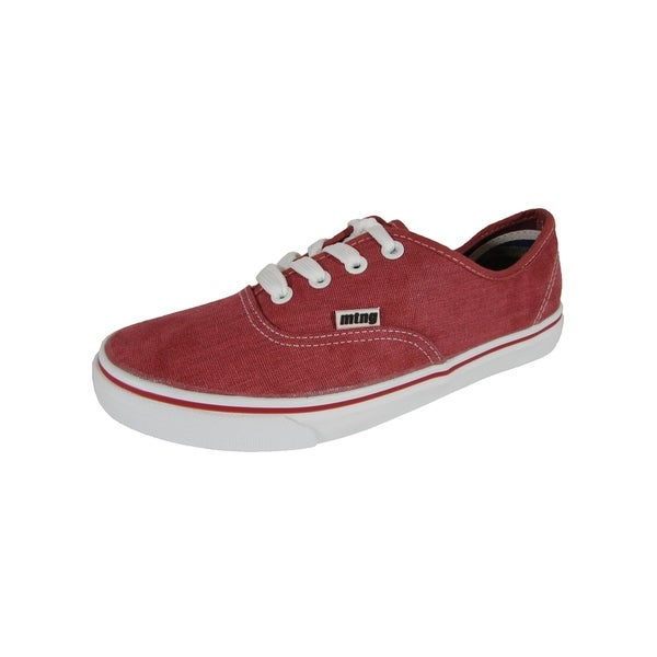 separation shoes a5e84 96120 Shop Mustang By MTNG Womens 55638 Low Top Sneaker Shoes, Red ...