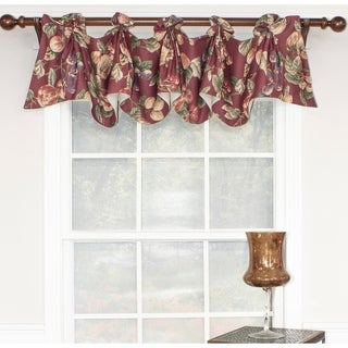 RLF Home Ambrosia Juliet Window Valance - Berry